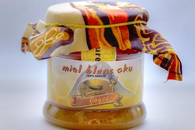 Miel Blanc d'Oku en pot